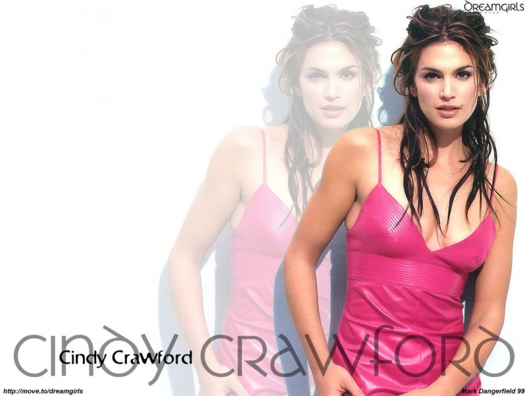 Fonds d'�cran C�l�brit�s Femme Cindy Crawford Wallpaper N�55678
