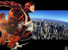 Fonds d'cran Comics et BDs Daredevil - The man without fear