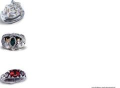 Fonds d'�cran Art - Num�rique Sorgal - Trois bijoux