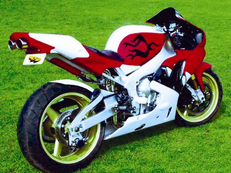 wallpapers motorbikes wallpapers tuning yamaha r1 by. Black Bedroom Furniture Sets. Home Design Ideas
