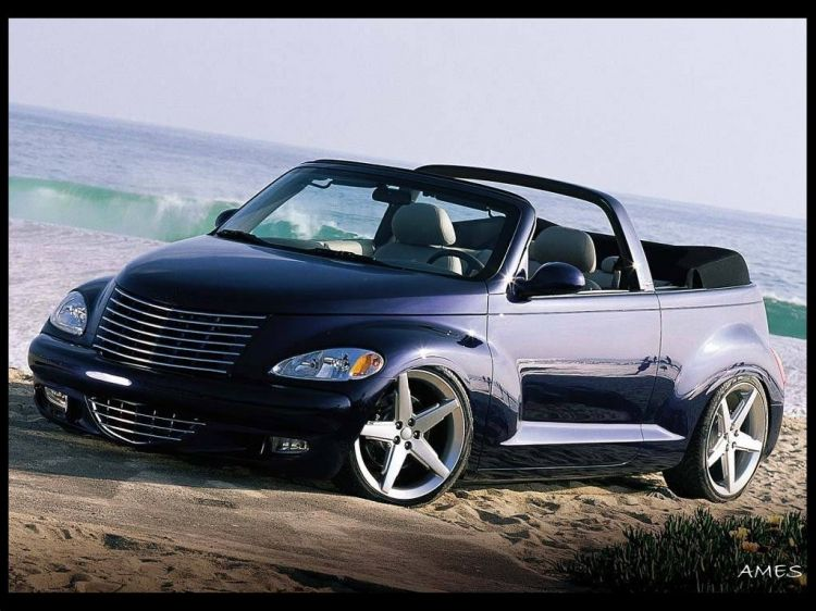 wallpapers cars wallpapers tuning pt cruiser cabrio by ames. Black Bedroom Furniture Sets. Home Design Ideas