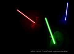 Fonds d'cran Cinma RGB Jedis Lights