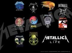 Fonds d'cran Musique Metallica for life
