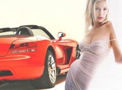 Wallpapers Cars Viper Girl