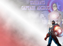 Fonds d'cran Comics et BDs Red's Wallpaper of Captain America 01