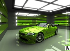 Fonds d'�cran Art - Num�rique :: BMW Z4 ::