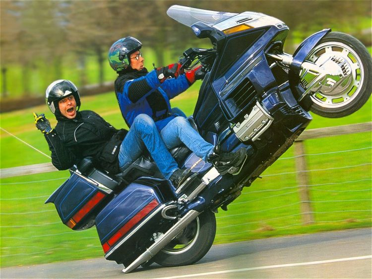 Fonds d'�cran Motos Honda GOLDWING