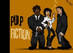 Fonds d'�cran Cin�ma PulP Fiction manga