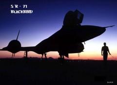 Fonds d'�cran Avions SR 71 Blackbird