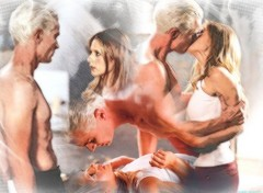 Wallpapers TV Soaps buffy et spike1