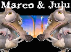 Wallpapers Cartoons Marco/Juju