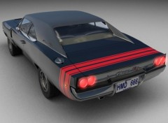Fonds d'�cran Voitures '68 Dodge Charger RT 440 Magnum