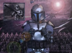 Fonds d'cran Cinma Jango Fett BD