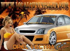 Wallpapers Cars vectra gt storm