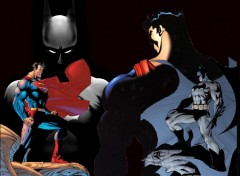 Fonds d'�cran Comics et BDs Superman vs Batman