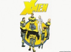 Fonds d'�cran Comics et BDs Logo X-men