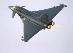 Fonds d'�cran Avions Eurofighter Typhoon