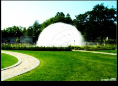 Fonds d'�cran Constructions et architecture Water Sphere