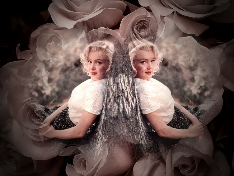 Fonds d'cran Clbrits Femme Marilyn Monroe Marylin Monroe