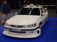 Fonds d'�cran Voitures Peugeot 406 ''Taxi 2''
