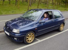 Fonds d'�cran Voitures Renault Clio Williams