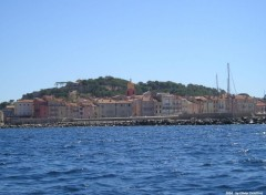 Wallpapers Trips : Europ St-Tropez vue du large