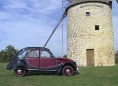 Fonds d'�cran Voitures Ma 2 CV Charleston