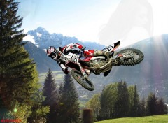 Fonds d'�cran Motos motocross ...