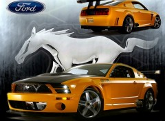 Fonds d'cran Voitures Mustang GTR Concept