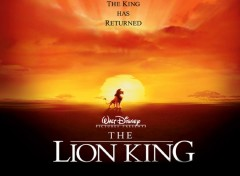 Fonds d'�cran Dessins Anim�s The Lion King