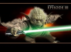 Fonds d'�cran Cin�ma yoda