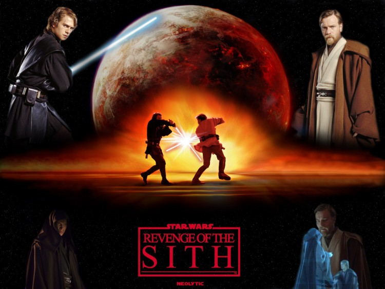 Wallpapers movies star wars episode iii revenge of the sith duel