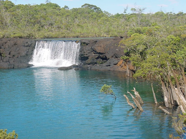 Wallpapers Trips : Oceania New Caledonia Les chutes de la Madeleine