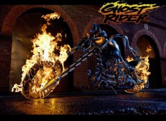 Fonds d'�cran Cin�ma Ghost Rider's ride