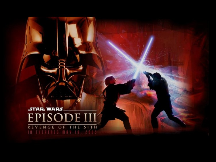 Fonds d'�cran Cin�ma Star Wars III - La Revanche des Sith darth vador