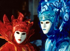 Fonds d'�cran Voyages : Europe Venise- masque
