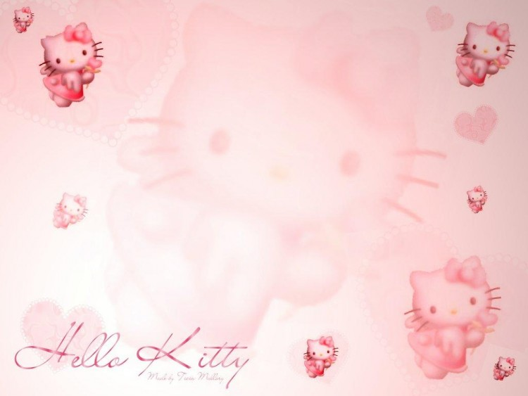 Fonds d'�cran Dessins Anim�s Hello Kitty Kitty Rosy