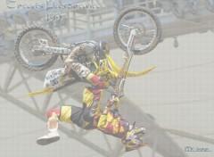 Fonds d'�cran Motos Travis Backflip