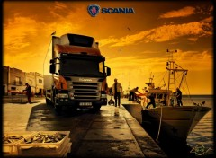 Fonds d'�cran Transports divers scania