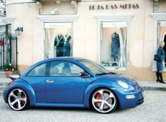 Fonds d'�cran Voitures New Beetle Techart, Porsche design