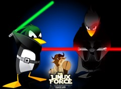 Fonds d'cran Informatique The Linux Force III
