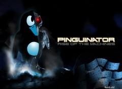 Fonds d'cran Informatique The Pinguinator | Rise of the machine