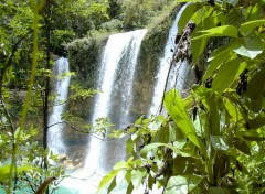 Fonds d'�cran Nature cascade del limone (Republica Dominica)