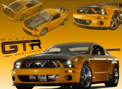 Fonds d'cran Voitures Ford Mustang GT-R