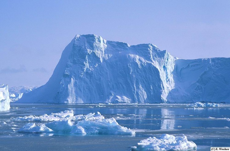 Fonds d'�cran Nature Icebergs Iceberg in Jacobshavn Isfjord, Greenland
