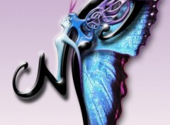 Fonds d'�cran Art - Num�rique Logo perso