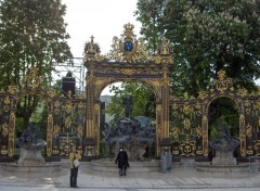 Fonds d'�cran Voyages : Europe A Nancy, les grilles de la place Stanislas