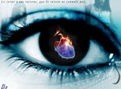 Fonds d'�cran Art - Num�rique In the heart of your eyes