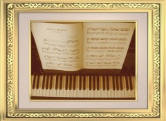 Fonds d'�cran Objets Old piano