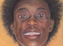 Fonds d'�cran Art - Crayon Autoportrait